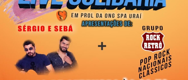 Live Solidária em Prol da Ong SPA - Uraí