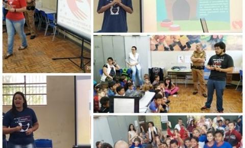 Ong SPA realiza palestra na Escola Municipal Leônidas Pontes